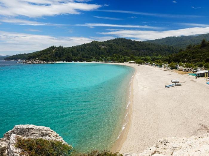 哈尔基迪基(Halkidiki)海滩
