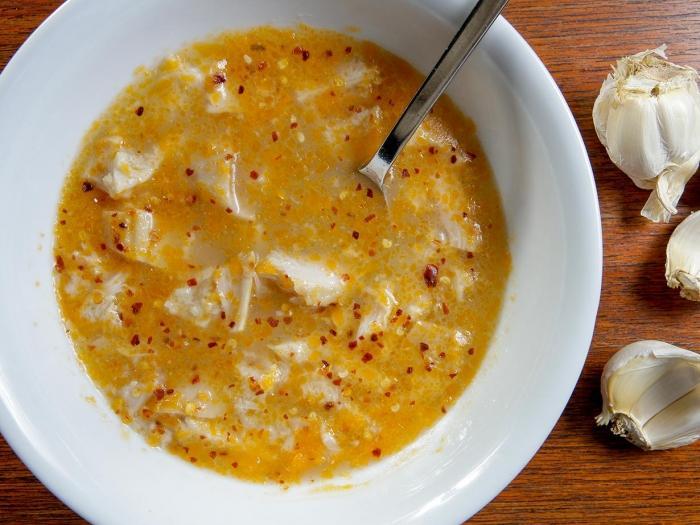 Patsas con aglio e peperoncino (zuppa di...