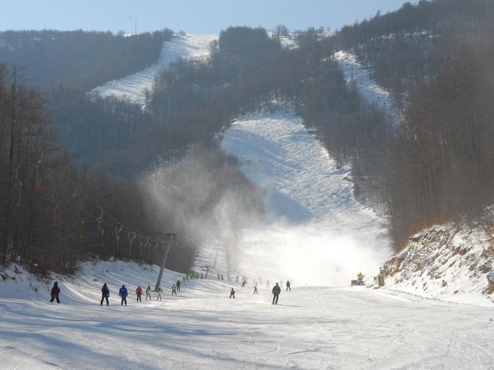 Estación de esquí 3-5 Pigadia