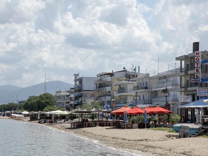 塞萨洛尼基的海滩