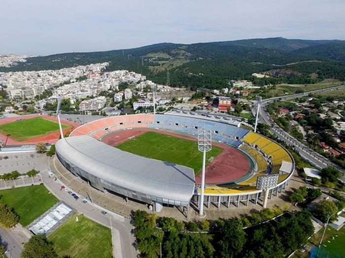Стадион Кафтандзогли�...