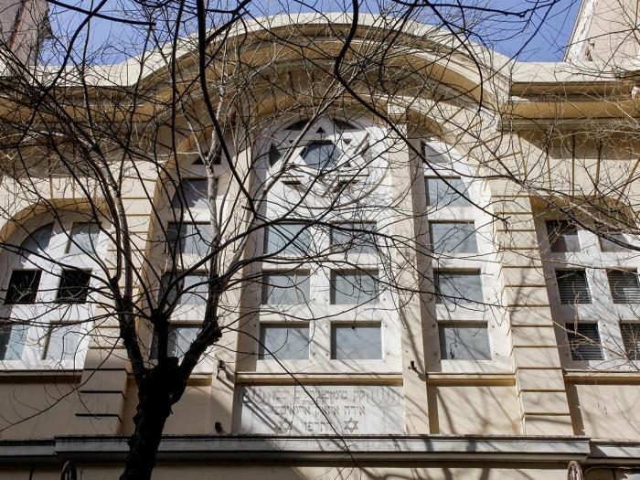 Die Synagoge der Monastiri-Einwohner